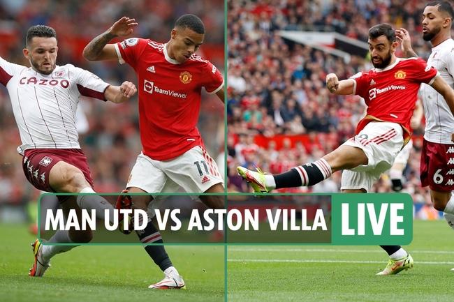 Man Utd vs Aston Villa LIVE SCORE: Hause beats Cavani at near post to head home late corner for visitors