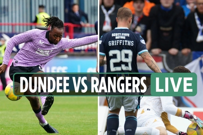Dundee vs Rangers LIVE SCORE: Stream free, TV channel as Jon McLaughlin SAVES Cummings penalty after he escapes red card
