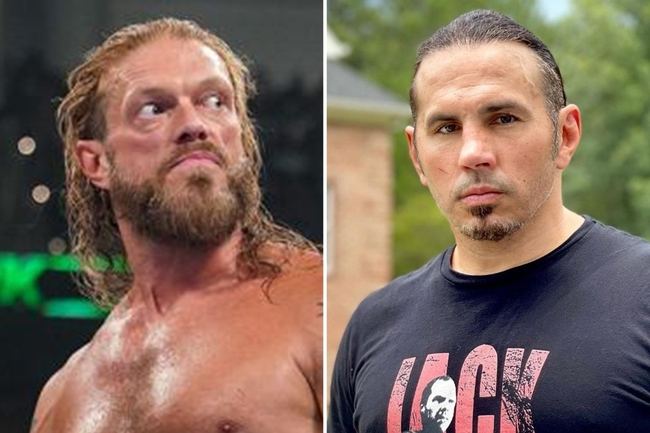 WWE legend Edge would have joined AEW if he had not been cleared to compete in ring again, claims Matt Hardy