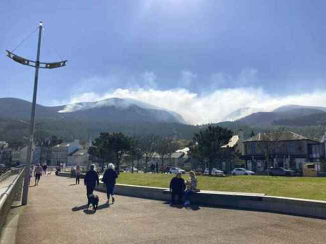 Wildfire in Northern Ireland declared a 'major incident'