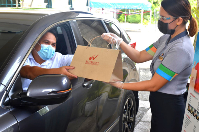 Waterfront Mactan Brings Latest Food Offerings To-Go through Drive-Thru Site