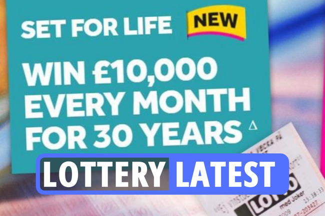 Lottery latest – Set For Life £10k a month draw on tonight as HUGE £25M to play for on Friday