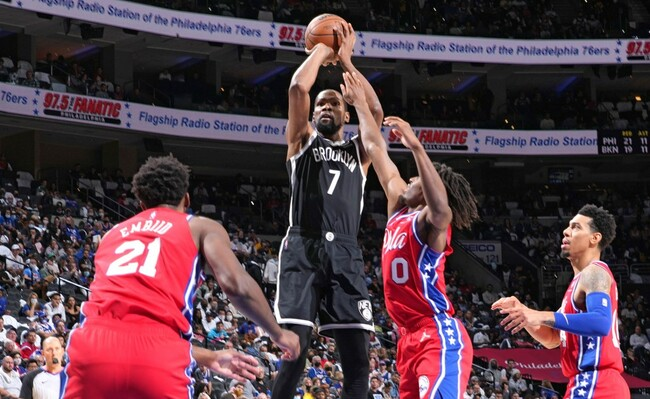 Nets clip 76ers with furious late rally for thrilling first win