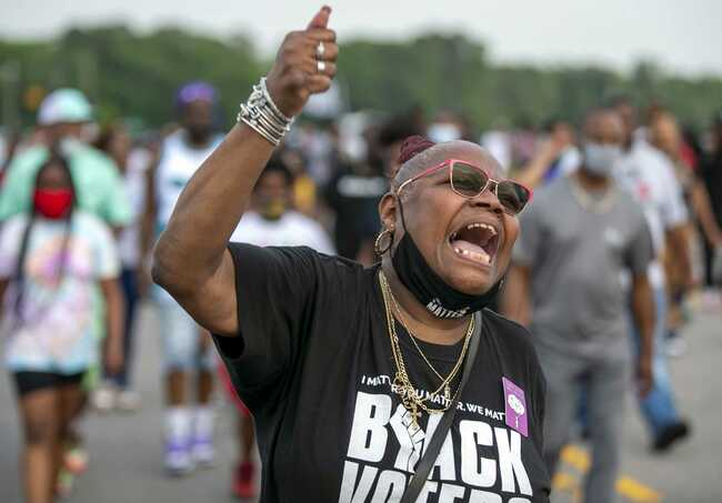 Curfew made later after protests over shooting of Black man