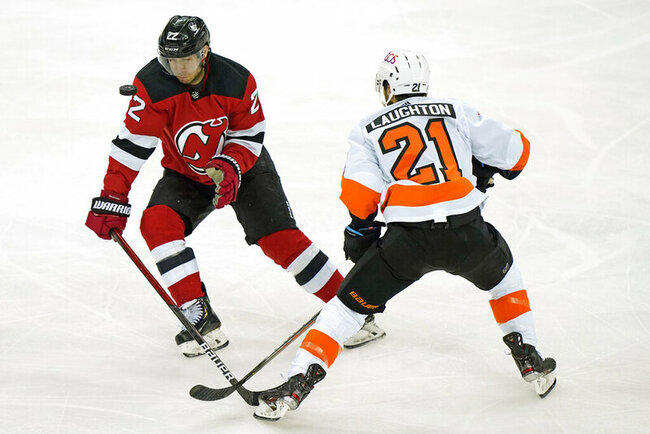 Sharangovich scores twice to power Devils past Flyers 5-3