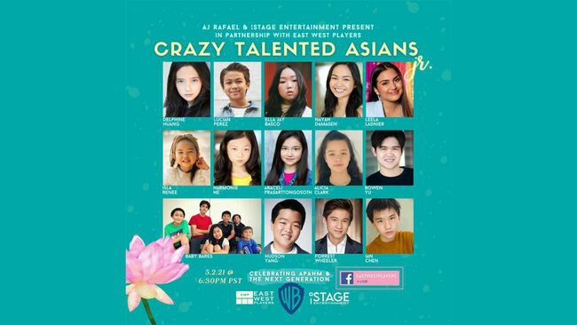East West Players To Kick Off Asian Pacific American Heritage Month With Junior Edition Of 'Crazy Talented Asians'
