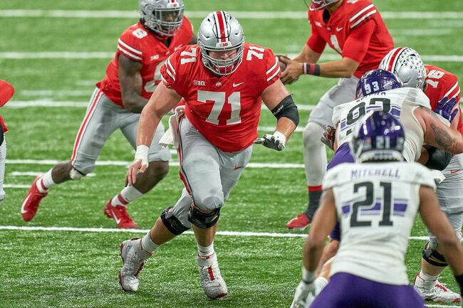The Green Bay Packers Land Their Next Center In Ohio State's Josh Myers