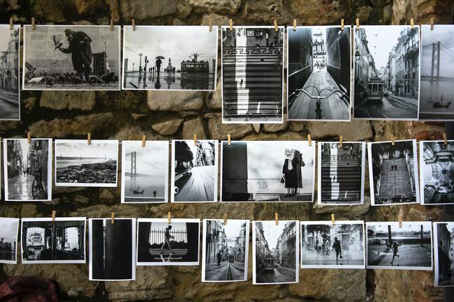 B/W Collage