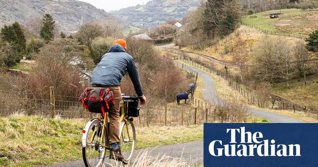 Into the valleys: an off-road cycle ride through south Wales