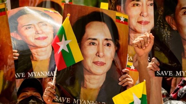 Myanmar's Suu Kyi marks third month under house arrest