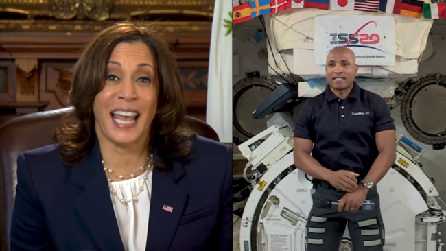 VP Harris will chair National Space Council, prioritizing peaceful exploration