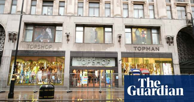 Topshop's top shop goes up for sale in latest blow for Philip Green