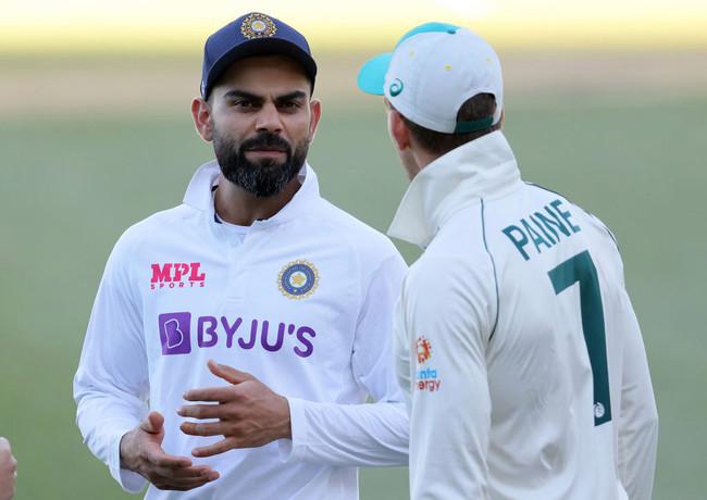Virat Kohli reacts to India's stunning collapse as Australia claim first Test