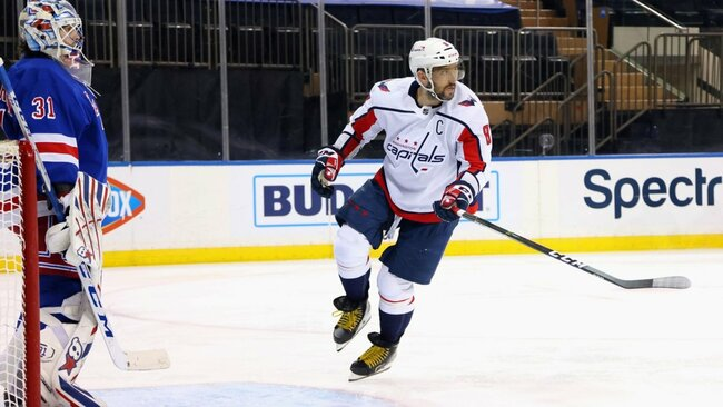 Capitals' Captain Alex Ovechkin Left Rangers Game as a Precaution
