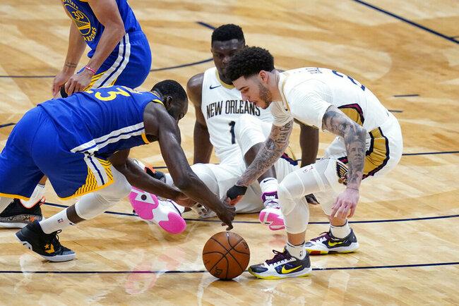 Curry's 41 points push Warriors past Pelicans 123-108
