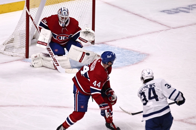 Matthews scores again, but Maple Leafs fall to Canadiens in overtime