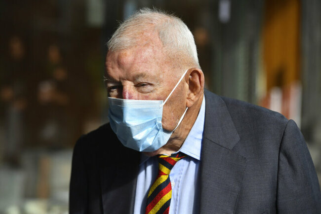 New Zealander gives up knighthood after guilty pleas