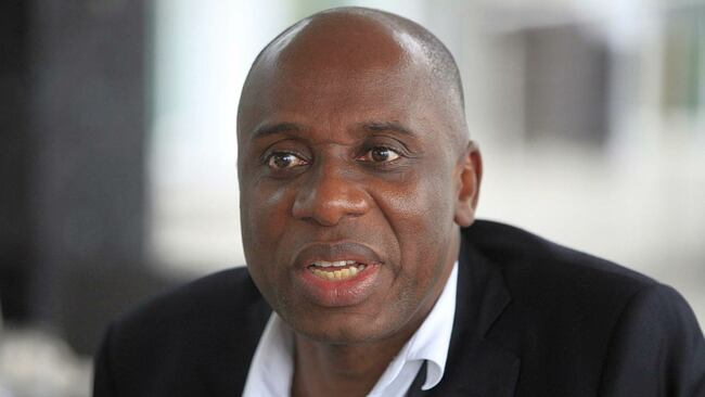 Amaechi refutes interview on printing of money into economy