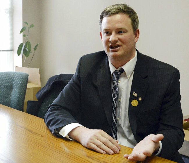 Military blocks promotion of South Dakota attorney general