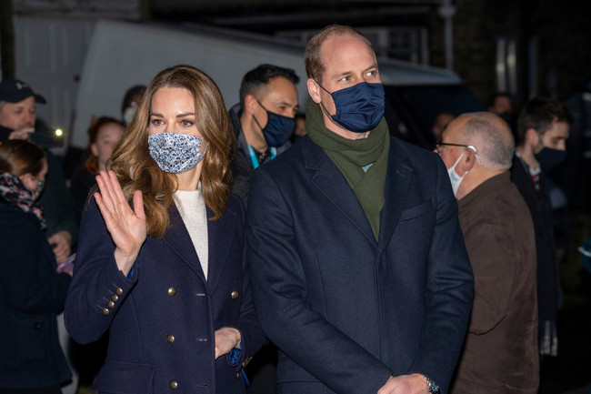 William and Kate accused of breaking 'rule of six' on walk with Edward's family