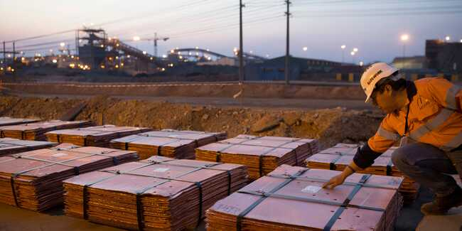 Copper prices could rise to $20,000 a ton within three years if inventories dry up, Bank of America says