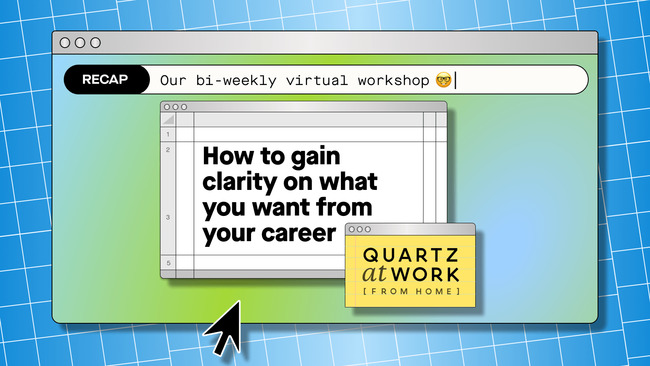 How to gain clarity on what you want from your career