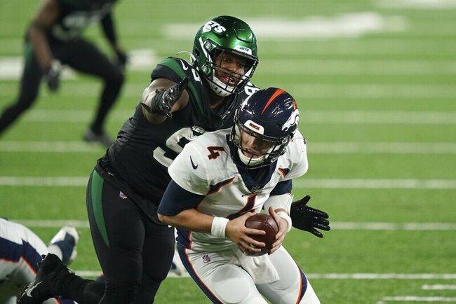 AP source: Foot sidelines Jets' Quinnen Williams 8-10 weeks
