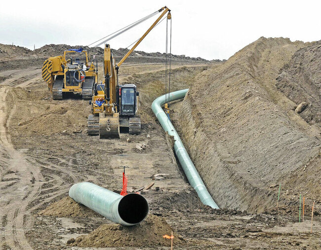 Groups sue over US program allowing pipelines on wetlands
