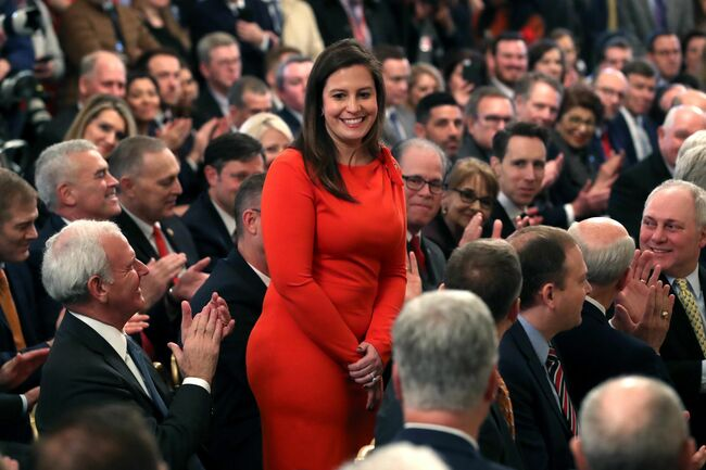 Trump Ally Elise Stefanik Gains Steam To Replace Liz Cheney As GOP Conference Chair