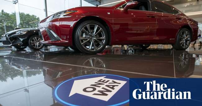 UK car sales rebound after 'one of darkest years in automotive history'