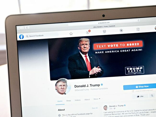 Trump Facebook ban upheld as review board extends exile for now