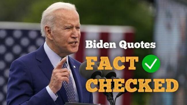Humpday Humor: Fact-Checking President Biden's 10 Most Controversial Statements