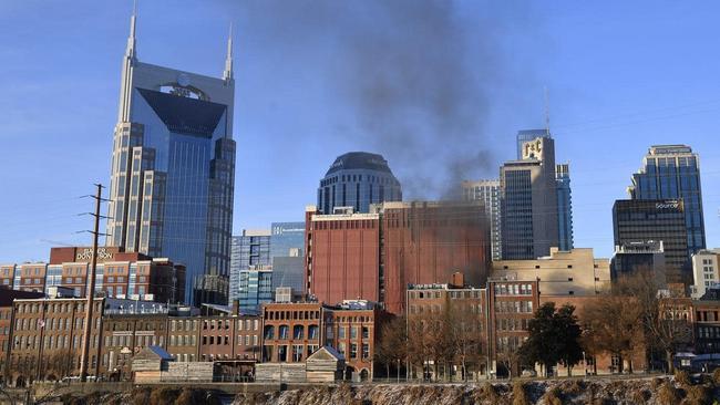 Explosion rocks downtown Nashville
