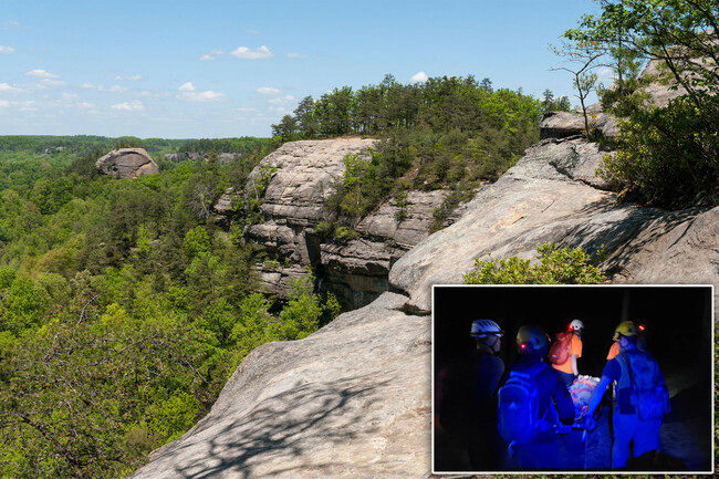 University of Kentucky medical student dies in 150-foot cliff fall