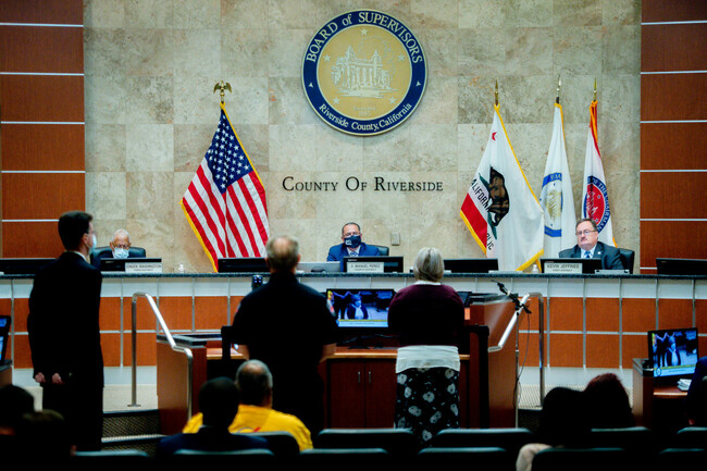 Assemblywoman's bill would stop Riverside County supervisors from drawing own districts